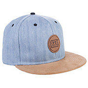 Stay Strong Chambray Snapback Cap